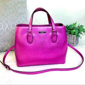 kate spade Bags - Kate Spade Laurel Way Evangeline Pink Satchel Bag